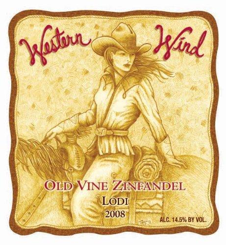 2008 Western Wind Old Vine Lodi Zinfandel 750 Ml