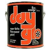 DayGlo Fluorescent Solvent-Based 215 Series Brushing Enamel Paint (Quart, Fire Orange, 215-14) (Color: Fire Orange, Tamaño: Quart)