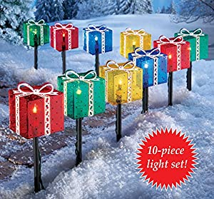 Holiday Gift Box Pathlight Set