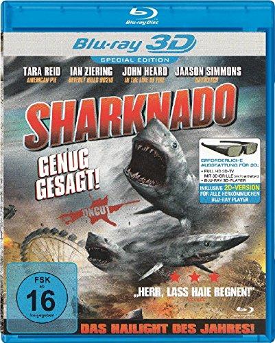 Sharknado - Uncut - Special Edition - Blu-ray & 3D Blu-ray - Bonusfilm : 2 Headed Shark Attack