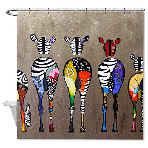 whiangfsoo-multicolor-animal-zebre-peintures-doux-polyester-rideau-de-douche-pour-baignoire-n2-66x72