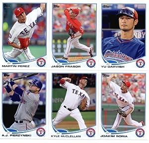 2013 Topps Baseball Cards Update Series- Texas Rangers Team MLB Trading Set - 10... by Topps