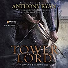 Tower Lord: Raven's Shadow, Book 2 (       UNABRIDGED) by Anthony Ryan Narrated by Steven Brand