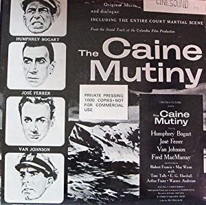 THE CAINE MUTINY - LIMITED EDITION SOUNDTRACK LP