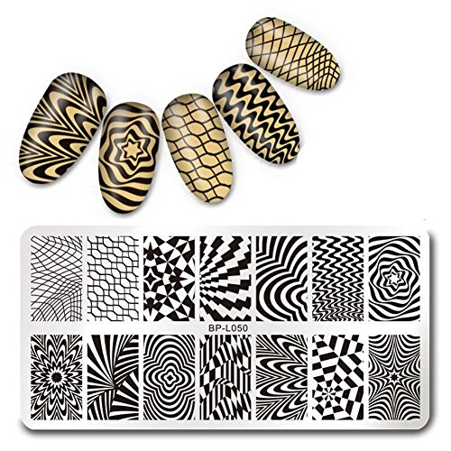 born-pretty-126cm-rectangle-stamping-template-wave-net-design-manicure-nail-art-image-plate-bp-l050