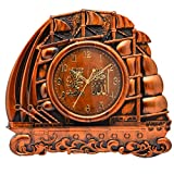 GATTS Copper High grade Plastic Wall Clock for for Muslim Home & Decoration