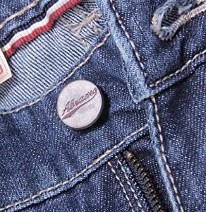 3a2ee6718d2 Abrams Men s Five Pocket Jeans Regular Fit Vintage denim jeans blue size 36  Clothing