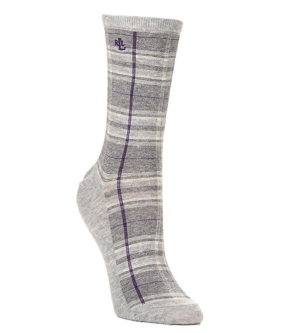 Straight Plaid Trouser Socks