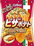 カルビー ピザポテト明太マヨ味 70g×12袋