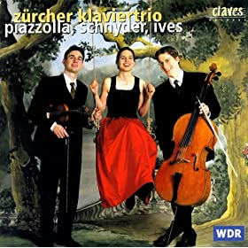 The Four Seasons - Four Tangos, Version For Piano Trio By Jos� Bragato: Invierno Porte�o (Winter In Buenos Aires)