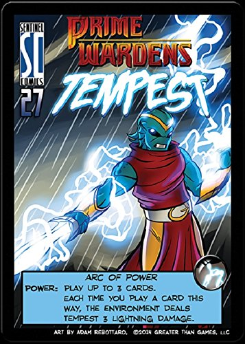 Sentinels of the Multiverse : PRIME WARDEN HERO Expansion Promo - Prime Warden TEMPEST