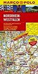 MARCO POLO Karte Nordrhein-Westfalen...