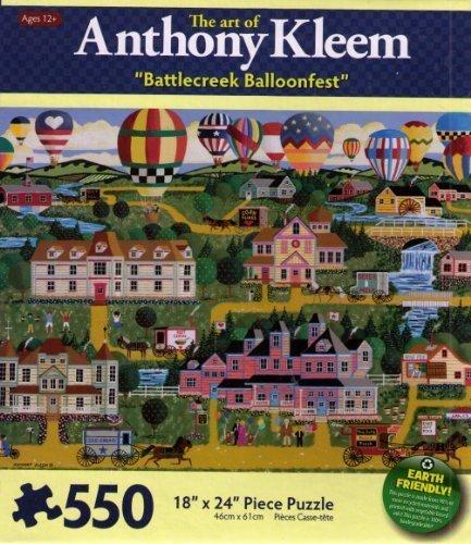 The Art of Anthony Kleem Battlecreek Balloonfest by Karmin International