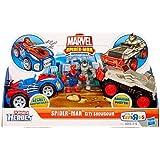 Marvel Playskool Super Hero Adventures Exclusive Playset SpiderMan City Showdown