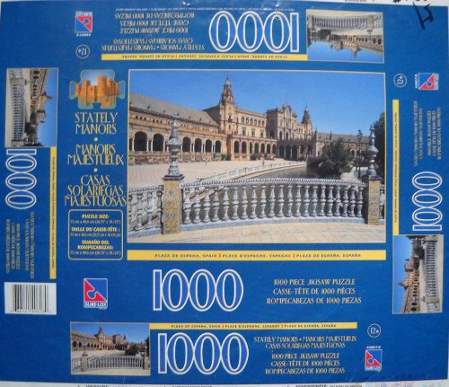 1000 Piece Jigsaw Puzzle-Stately Manors