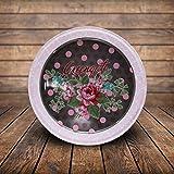 MBGiftsGalore Round Designer Tin Box - Design 12