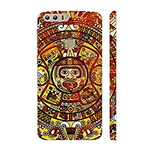 Enthopia Designer Hardshell Case Crazy Woodo Back Cover for Huawei Honor 8
