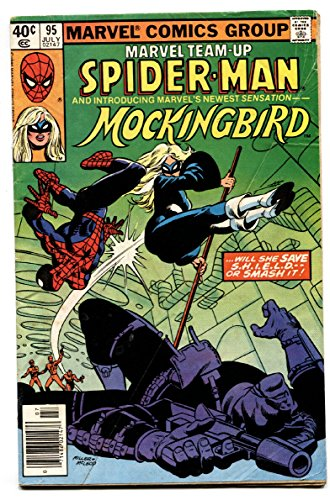 MARVEL TEAM-UP #95 comic book. FIRST MOCKINGBIRD-S.H.I.E.L.D.--TV-HOT KEY (Marvel Team Up 95 compare prices)
