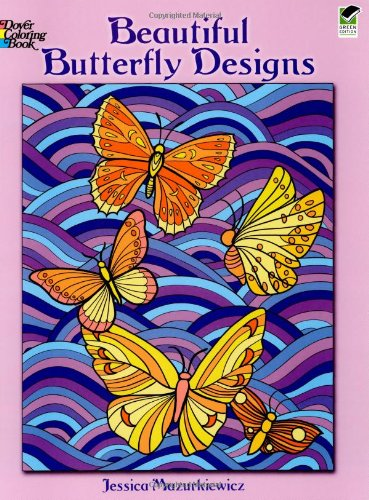 Beautiful Butterfly Designs (Dover Nature Coloring Book)