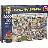 Jan Van Haasteren - At the Airport 2000 Piece Jigsaw Puzzle