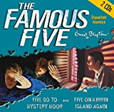 2. Five Go to Mystery Moor & Five On Kirrin Island Again: AND Five on Kirrin Island Again (The Famous Five) Enid Blyton
