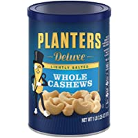 Planters Deluxe 18.25oz Lightly Salted Whole Cashews