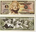Marilyn Monroe $Million Dollar$ Novelty Bill Collectible