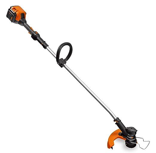 3. WORX WG168 40-volt Lithium Cordless Grass Trimmer and Edger