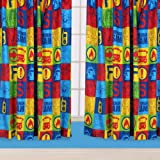 Character World 54-inch Fireman Sam Duty Curtains
