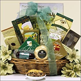 Greetings: Gourmet Holiday & Christmas Cheese Gift Basket: Amazon.com