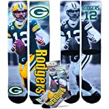 Green Bay Packers Aaron Rodgers NFL Drive Socks