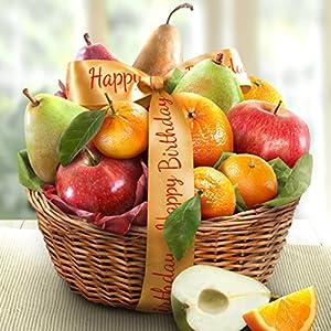 Birthday Orchard Favorites Fruit Basket Gift