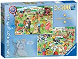 Ravensburger Best of British The Country Show Puzzles (2 x 500 Pieces)