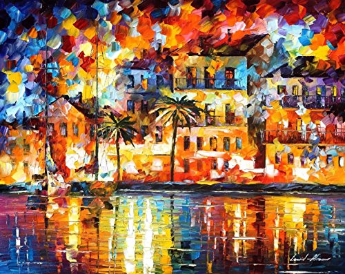 ***SUMMER SALE!*** THE SHORES OF SPAIN is the ONE-OF-A-KIND, ORIGINAL hand painted oil painting on Canvas by Leonid AFREMOV