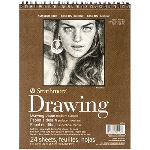 Strathmore Medium Drawing Spiral Paper Pad 8