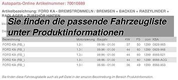 Bremshebel f/ür HONDA CBF 500 ABS Bj.04-07