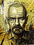 Prop It Up Walter White Sketch of Breaking Bad Fame (18inchX24inch)