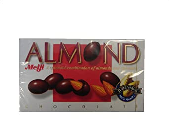 Meiji Choco Almond, 3.38-Ounce Units (Pack of 10)