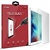 Apple 12.9-inch iPad Pro Screen Protector, iCarez [Tempered Glass] Premium Easy Install with Lifetime Replacement Warranty - Retail Packaging (Color: Clear)