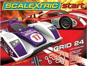 Scalextric Start C1286 Grid 24 1:32 Scale Race Set