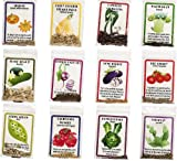12 Heirloom Varieties of Vegetable Seeds