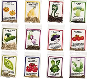 12 Heirloom Varieties of Vegetable Seeds