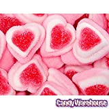Tripple Layer Gummy Hearts Candy 1lb