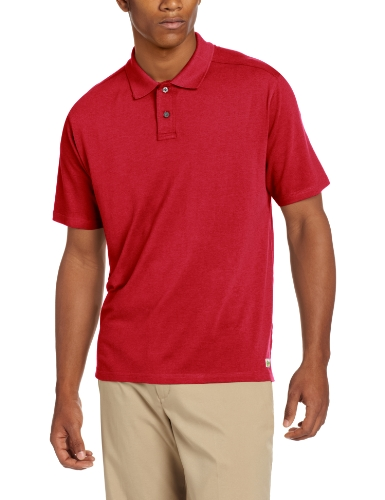 Tasc Performance Men'S Club Polo, True Red, Medium