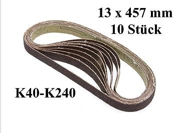 K/örnung: 180 Klingspor PS 28 F Schleifband//Breitband 150 x 2250 mm 5 St/ück