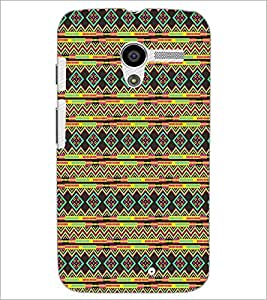 MOTOROLA MOTO X DIAMOND PATTERN Designer Back Cover Case By PRINTSWAG
