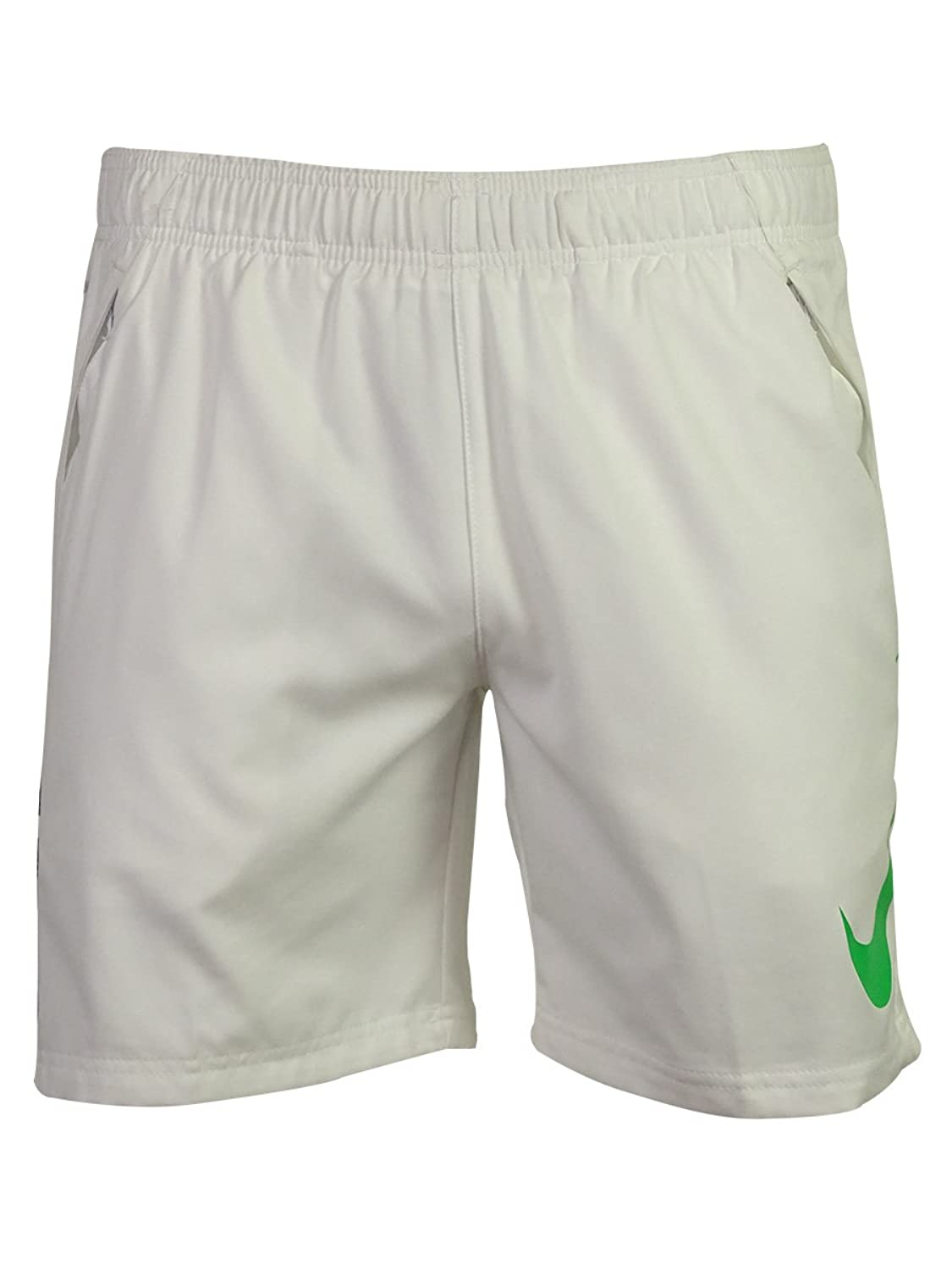 nike dri fit soccer shorts white