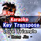 Love Triangle [In The Style of Kang Jin] [-3Key Karaoke]