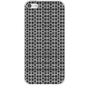 Skin4gadgets BLACK & WHITE PATTERN 12 Phone Skin for IPHONE 5C