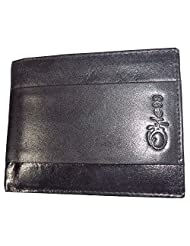 Style98 Black Leather Wallet For Men - B00SOSVHWA
